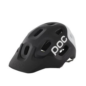 POC Trabec Race Cykelhjälm svart/vit